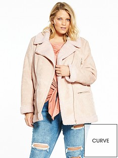 v-by-very-curve-faux-shearling-biker-jacket-blush
