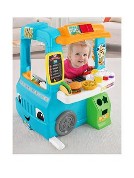 Fisher-Price Fisher-Price Laugh &Amp; Learn Servin' Up Fun Food Truck Picture