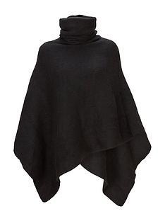 v-by-very-cowl-neck-poncho-black