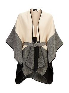 v-by-very-trio-belted-cape-border-check