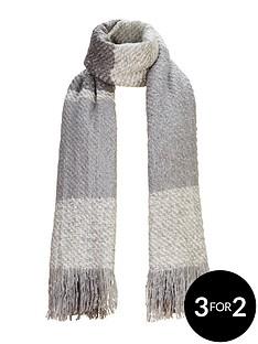 v-by-very-lurex-thread-blanket-scarf-grey