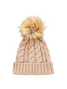 v-by-very-chunky-cable-knit-pom-pom-beanie--nbspnatural