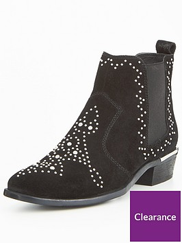 office-abracadabra-suede-chelsea-ankle-boot