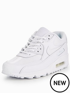 nike-air-max-90-leather-whitenbsp