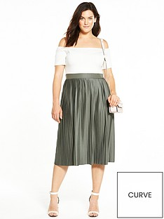 ax-paris-curve-2-in-1-pleated-midi-dress