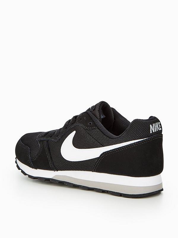 prix le plus bas 5b4c8 16324 MD Runner 2 Junior Trainer - Black/White