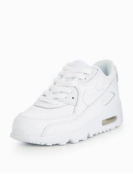 nike-nike-air-max-90-leather-childrens-trainer