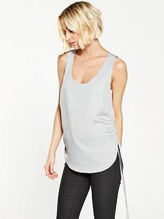 river-island-grey-tie-side-vest