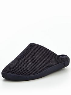 totes-isotoner-totes-isotoner-pillowstep-waffle-mule-slipper