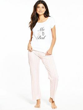v-by-very-me-amp-my-bed-pink-stripe-pj-set