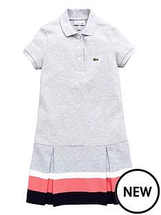 lacoste-short-sleeve-peplum-dress