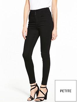v-by-very-petite-macy-high-waisted-skinny-jean-black