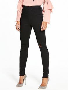 v-by-very-tall-charley-high-waist-slash-knee-side-zip-jegging
