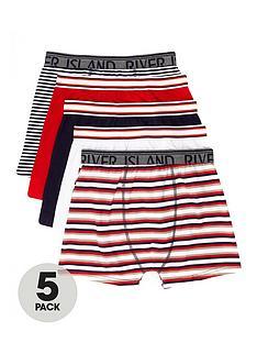 river-island-boys-navy-stripe-boxers-multipack