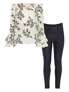river-island-girls-cream-floral-top-and-jeggings-outfit