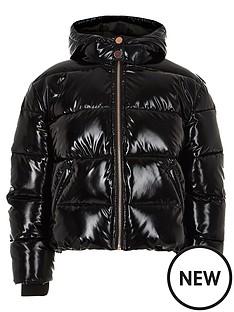 river-island-girls-black-high-shine-padded-jacket