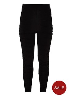 river-island-girls-black-ruched-leggings