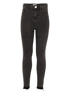 river-island-girls-black-amelie-ripped-super-skinny-jeans