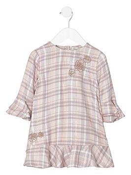 river-island-mini-girls-pink-check-embroidered-smock-dress