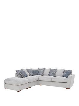Very Bloom Fabric Left-Hand Corner Group Sofa Picture