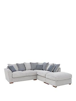 Very Bloom Fabric Right-Hand Corner Group Sofa Bed Picture