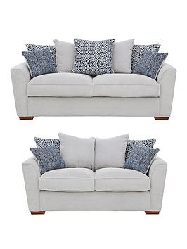 Very Bloom Fabric 3-Seater + 2-Seater Sofa Set (Buy And Save!) Picture