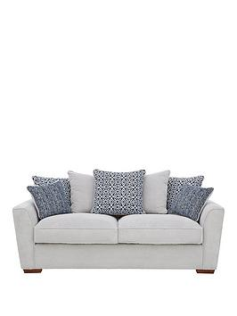 Very Bloom Fabric 3-Seater Sofa Picture