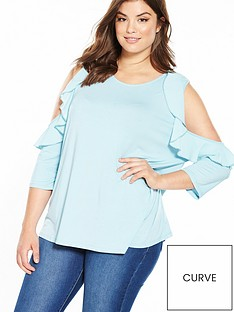 v-by-very-curve-ruffle-cold-shoulder-jersey-top-ice-blue