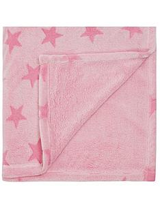 catherine-lansfield-star-fleece-throw