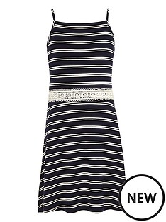 river-island-girls-white-stripe-crochet-waist-dress