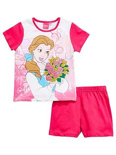 disney-beauty-and-the-beast-beauty-and-the-beast-girls-shorty-pyjamas