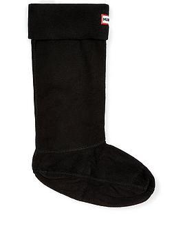 hunter-tall-boot-socks-black