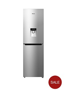 hisense-rb335n4wg1-55cm-wide-frost-free-fridge-freezer-silver