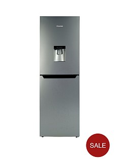hisense-rb320d4wg1-55cm-wide-fridge-freezer--nbspnext-day-delivery-silver