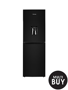 hisense-rb320d4wb1-55cm-wide-fridge-freezer-black
