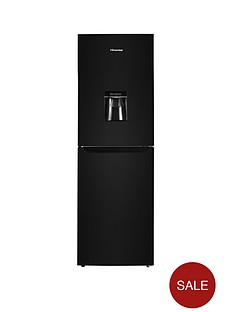 hisense-rb320d4wb1-55-cm-wide-fridge-freezer-next-day-delivery-black