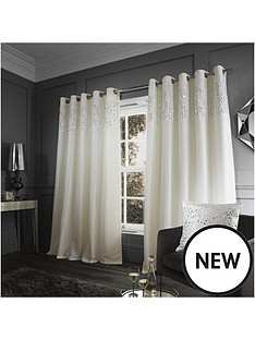 catherine-lansfield-glitzy-sequin-eyelet-curtain