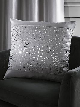 Catherine Lansfield Glitzy Sequin Cushion