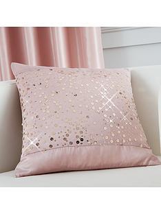 catherine-lansfield-glitzy-sequin-cushion