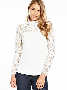 v-by-very-lace-yoke-long-sleeve-top-ivory
