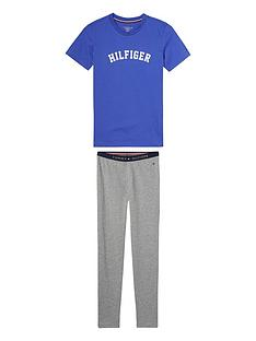 tommy-hilfiger-boys-short-sleeve-pyjama-set