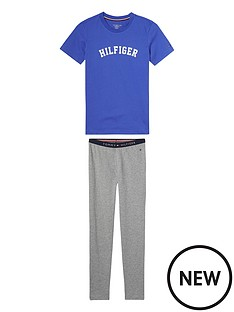 tommy-hilfiger-boys-short-sleeve-pyjama-set