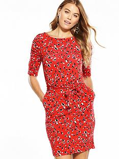 v-by-very-belted-crepe-dress--nbspanimal-print