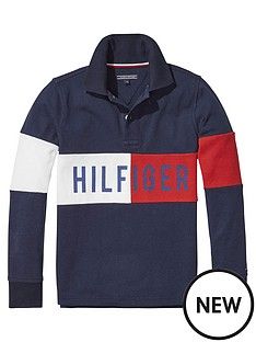 tommy-hilfiger-boys-logo-long-sleeve-polo