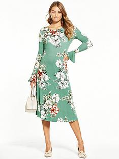 v-by-very-jersey-long-sleeve-printed-midi-dress