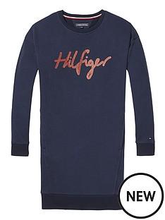 tommy-hilfiger-girls-logo-sweat-dress