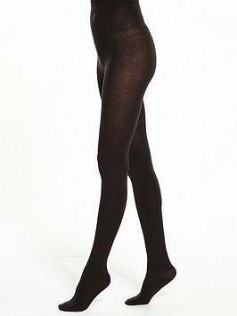Pretty Polly   100 Denier Supersoft Opaque Tights - Black