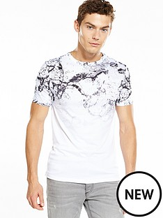 river-island-cracked-faded-print-tshirt
