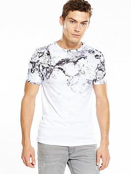river-island-cracked-faded-print-tshirt