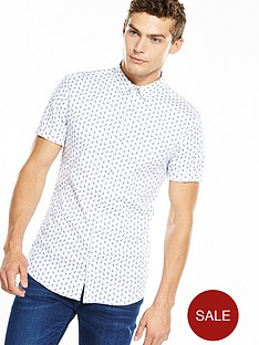 river-island-short-sleeve-muscle-fit-paisley-print-shirt